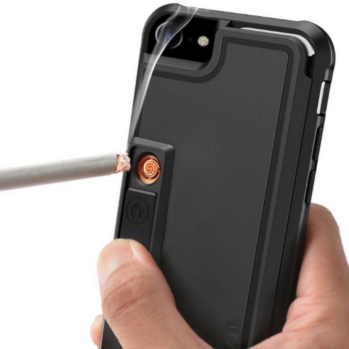 Чехолс прикуривателем для смартфона. Курящие люди, отправившись в путешествие, могут столкнуться с т