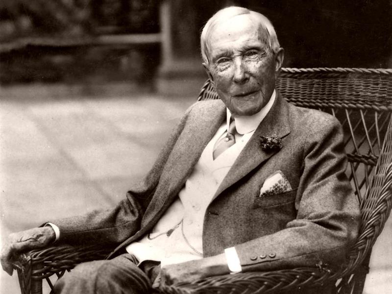 4. Джон Д. Рокфеллер-старший Жил: 1839-1937. Страна: Соединенные Штаты Америки. Богатство: 341 000 0