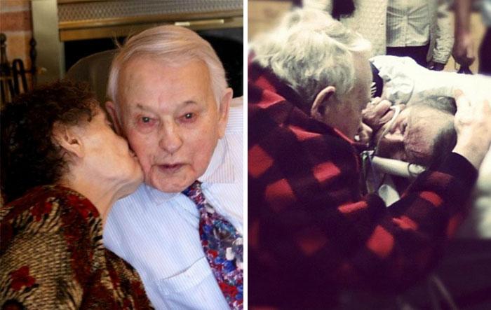 «Он каждый день пел жене песни перед сном и не изменил традиции и перед ее смертью. 70 лет настоящей