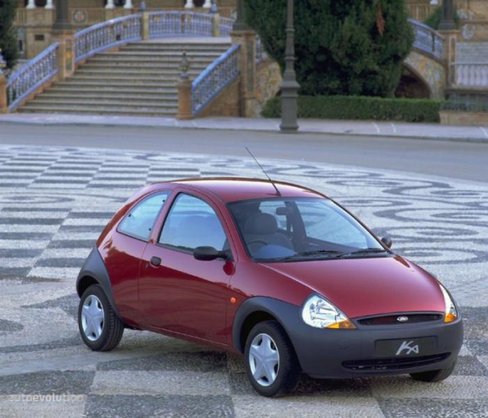 В 1996 году свет увидел Ford Ka, ставший не только маленькой и милой городской машинкой, а также сти
