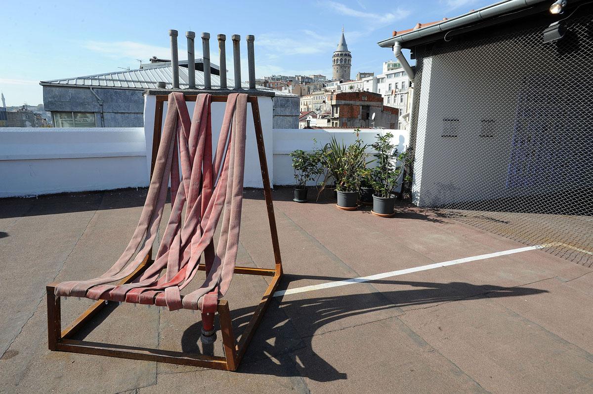 7. А на крыше выставочного зала был представлен проект о том, как можно сделать улицы и дворы удобне