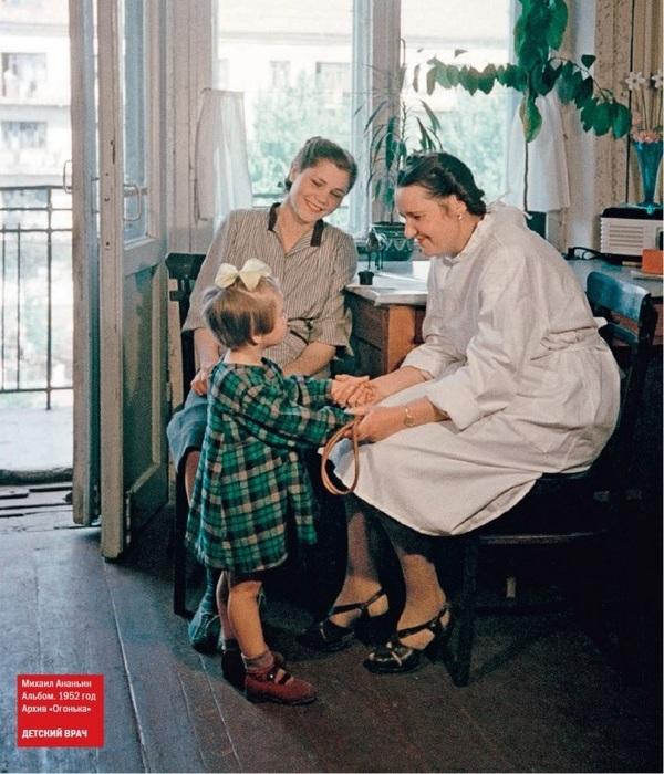 «Детский врач», фото Михаила Ананьина.