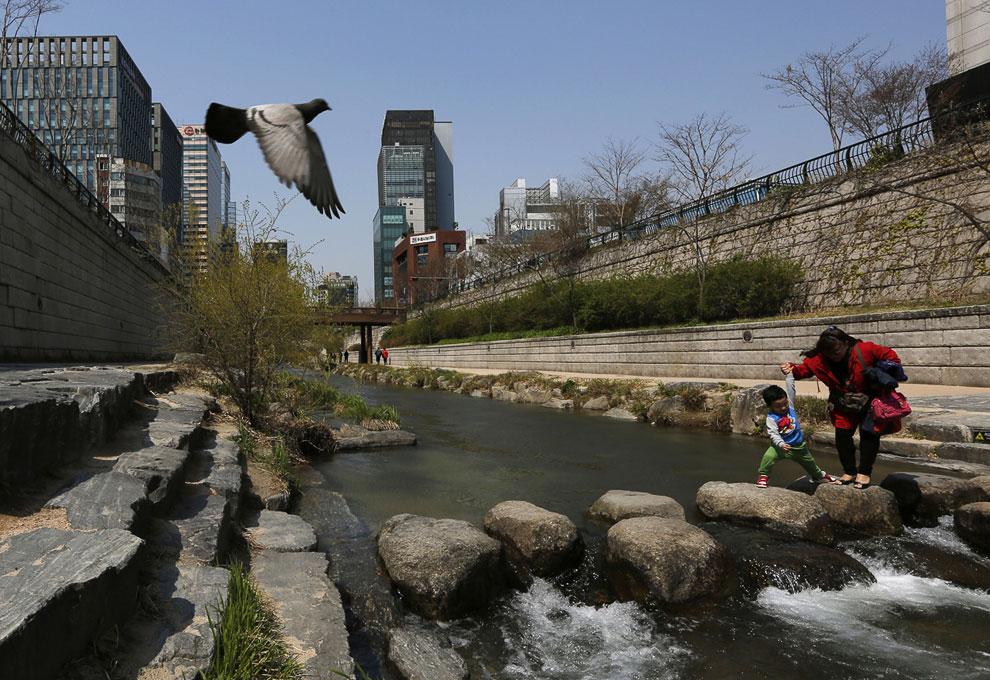 Ханган — река в Южной Корее . Протекает через Сеул и впадает в Жёлтое море. Длина — 514 километ