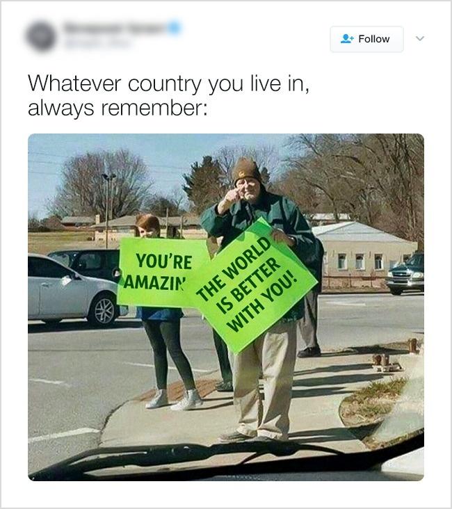 В Канаде вы всегда «великолепны» и «мир с вами лучше».