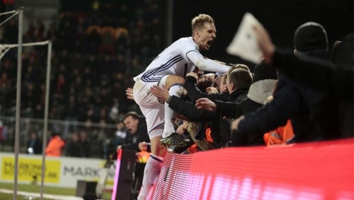 «Андерлехт» разгромил «Остенде» перед ответным матчем с«Зенитом» вЛЕ