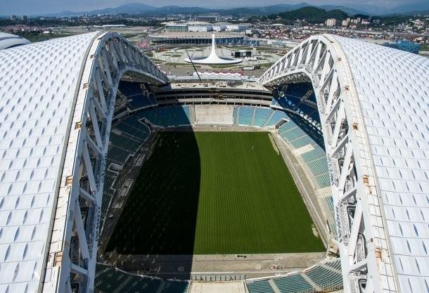 ВСочи стартовала продажа билетов наматч-открытия стадиона «Фишт»