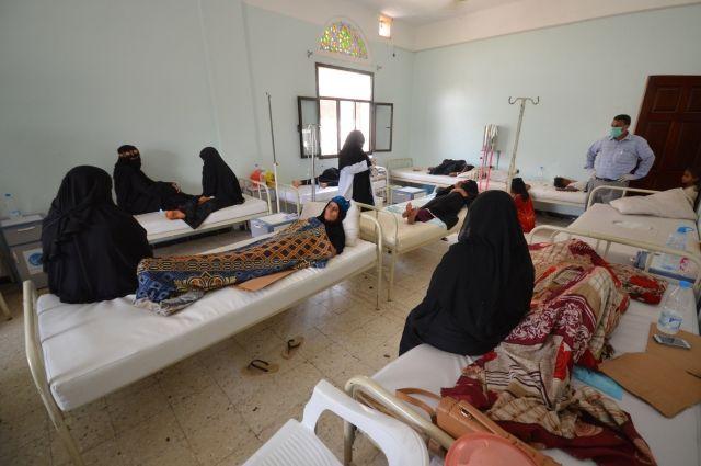 Встолице Йемена ввели чрезвычайное положение из-за эпидемии холеры