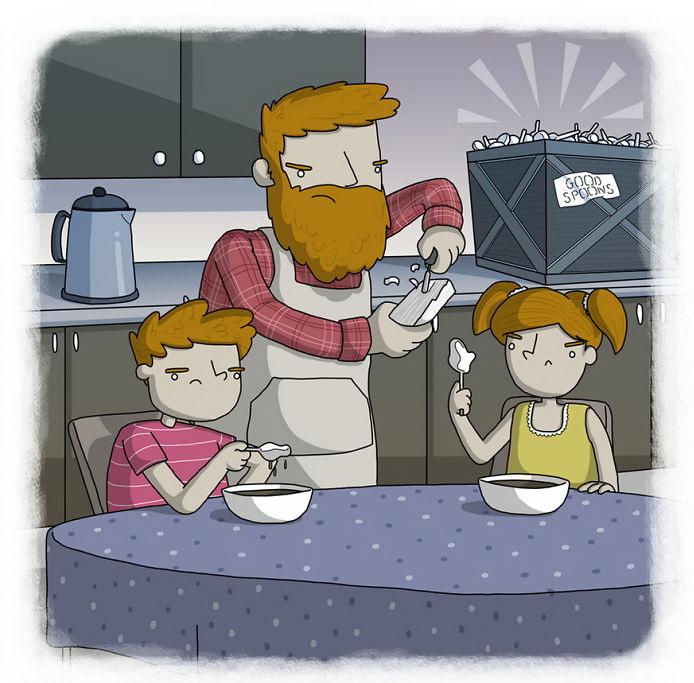 У детей ложечника часто самые плохие ложки (исландская пословица)