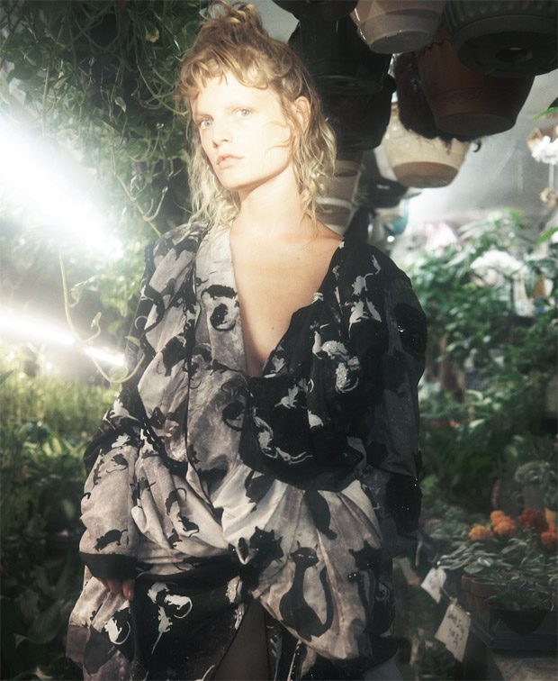 Hanne Gaby Odiele in Marc Jacobs for ODDA Magazine Spaces Issue