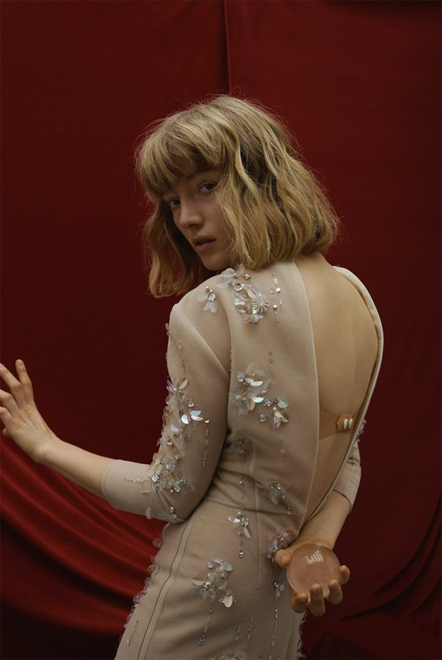 River of No Return: Lou Schoof Poses for ODDA Magazine #12 Issue (9 pics)