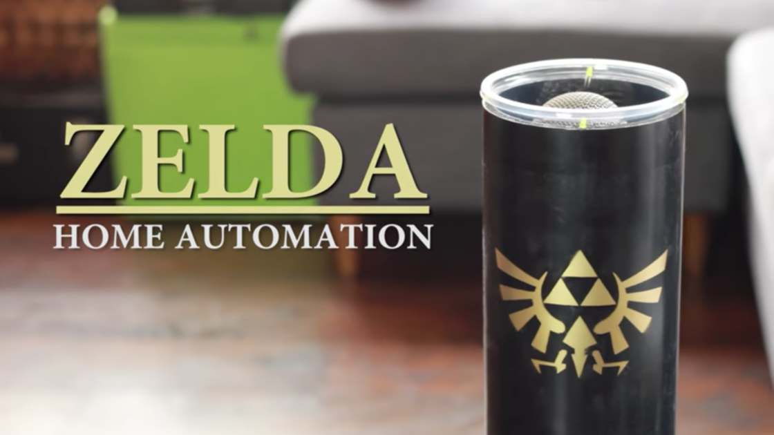 Zelda Home Automation - Control your house with an ocarina!