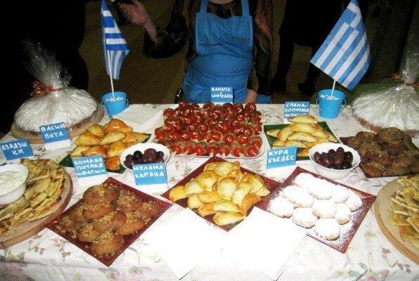 Греция, гастрономический фестиваль