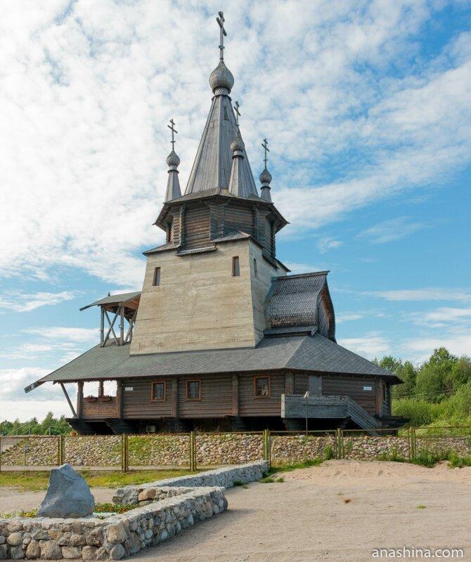 Храм Николая Чудотворца в Повенце