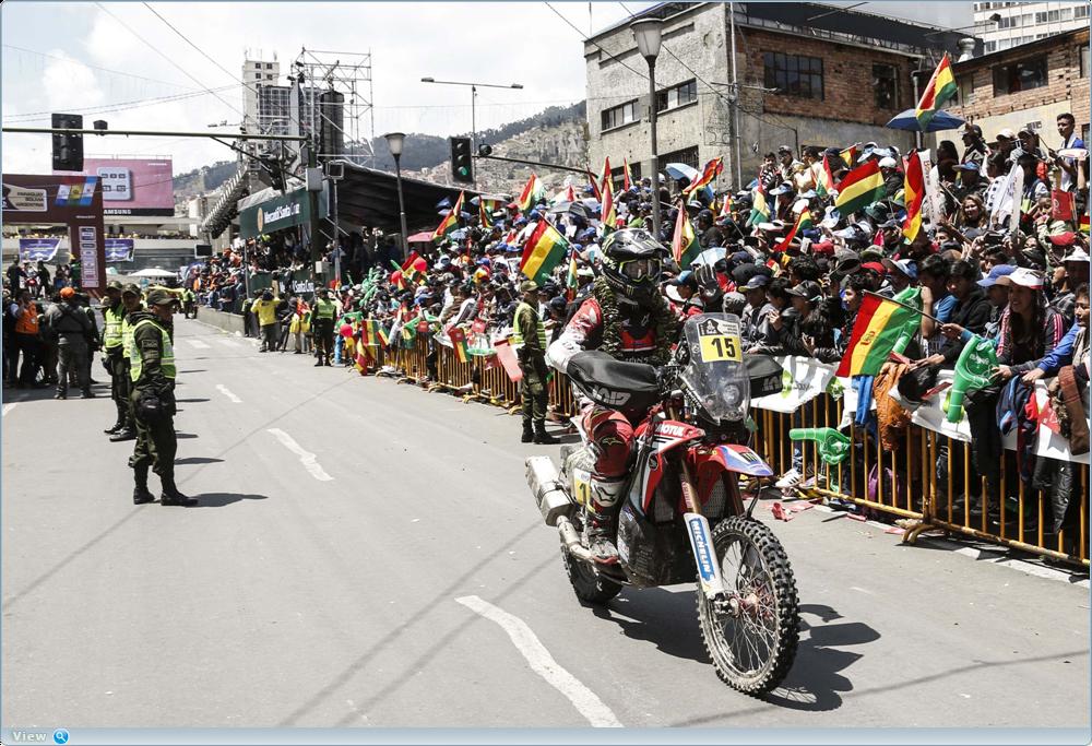 Фотографии 6-го этапа ралли Дакар 2017