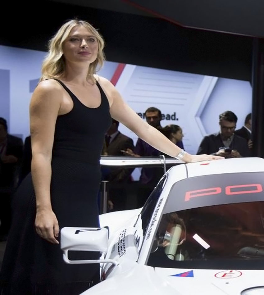 Maria Sharapova - LA Auto Show 2016