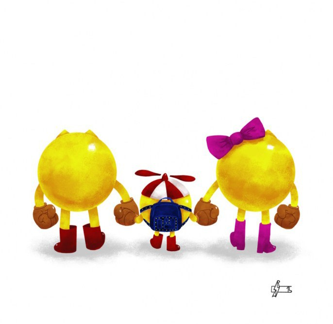 New Wave of Super Families mini-prints by Andry Rajoelina on the Geek-Art Store !