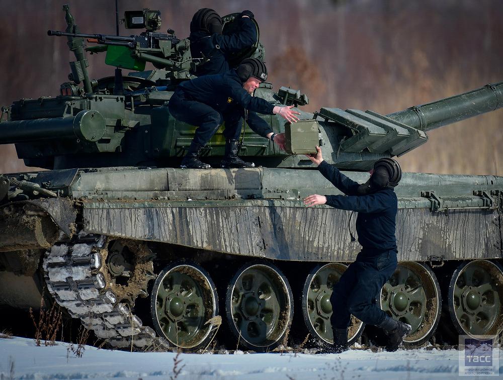 Соревнования танковый биатлон 2017