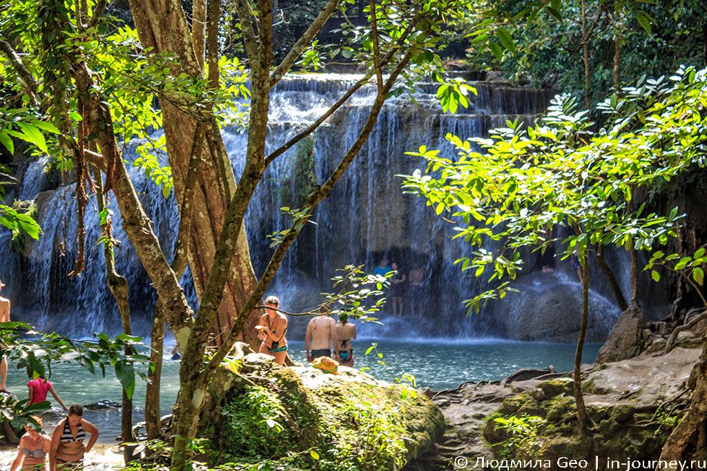 водопад эраван паттайя