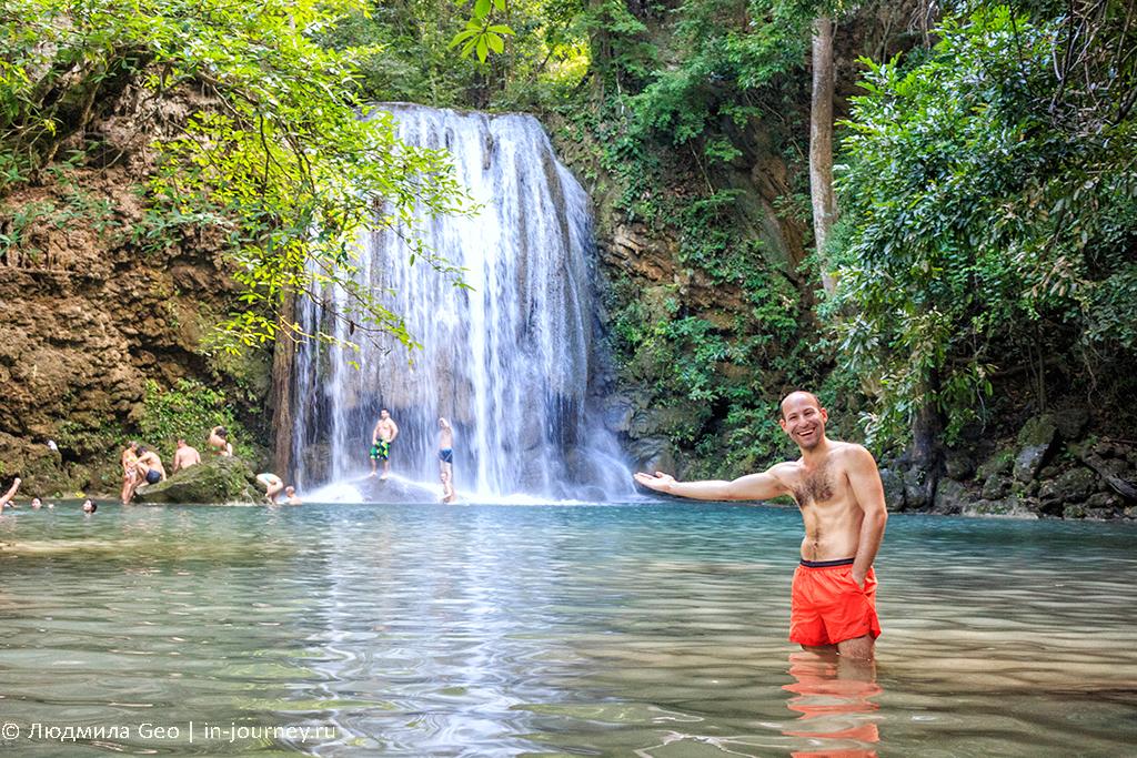 эраван каскадный водопад