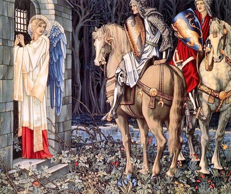 William Morris(1834-1896 гг.) - английский художник, дизайнер по ткани и мебели, писатель, теоретик искусства, издатель. Крупнейший представитель второго поколения «прерафаэлитов»..jpg