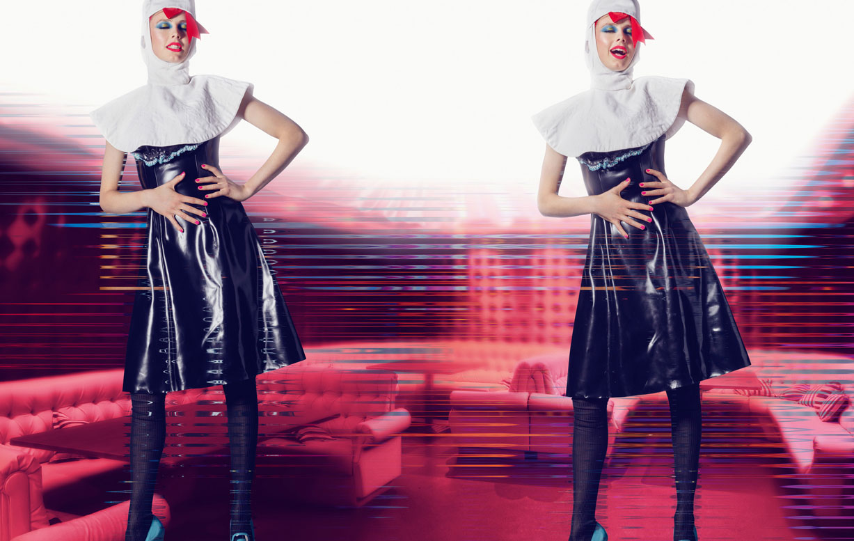 Любовь к униформе / Edie Campbell & Birgit Kos by Norbert Schoerner - System Magazine Autumn/Winter 2016