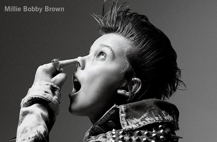 актриса Милли Бобби Браун / Millie Bobby Brown by Mikael Jansson - Interview Magazine november 2016