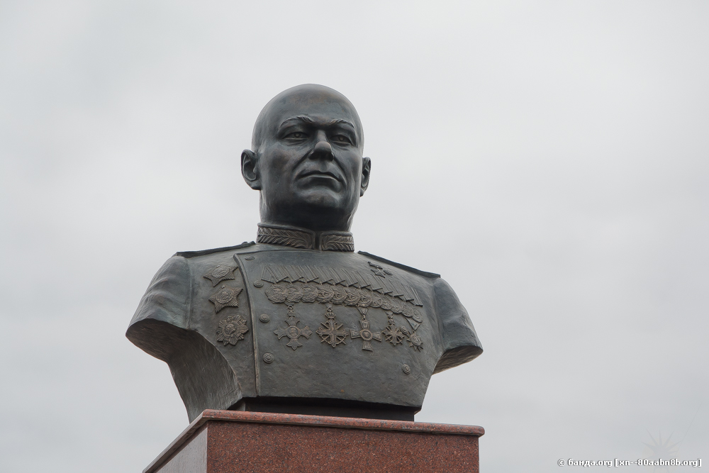 Открытие памятника Шумилову