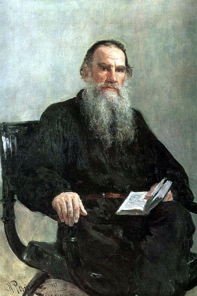 Репин И.Е. - Портрет Льва Толстого. 1887.jpg