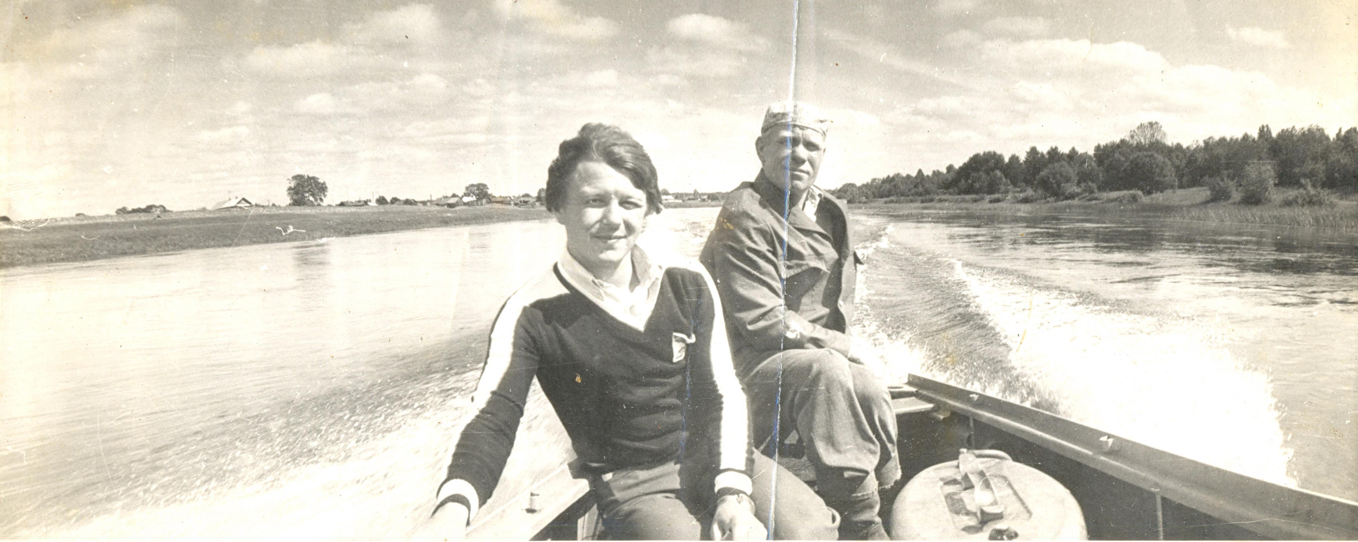 1980. Река Чагодоща