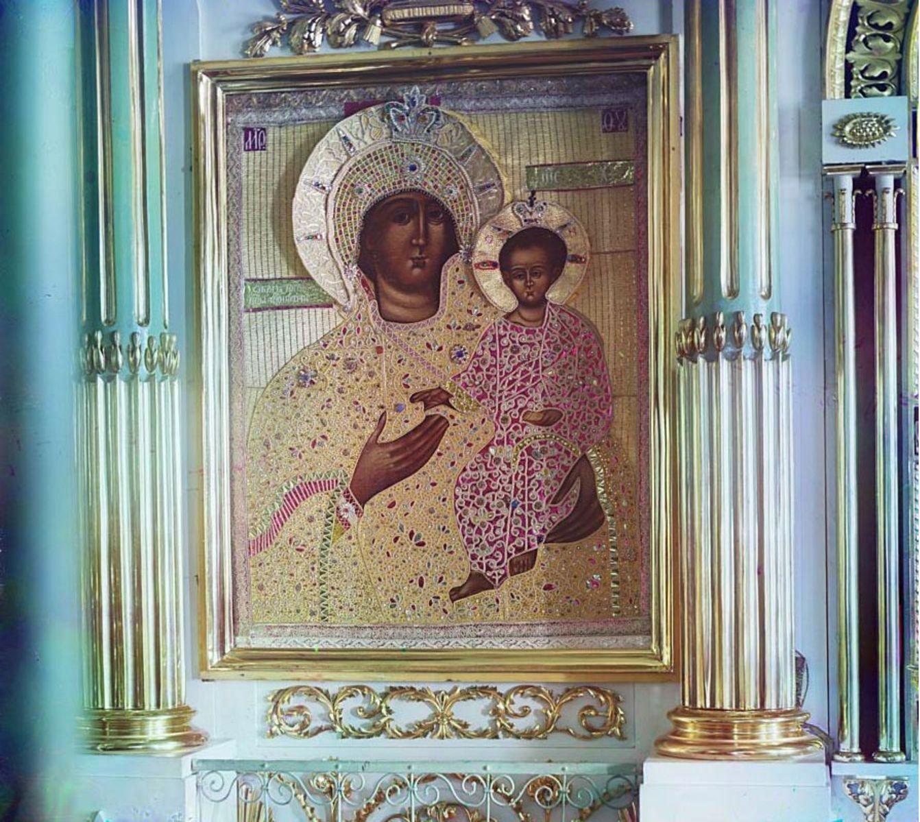 Горицкий монастырь. Икона Божией Матери