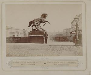 164. Статуя на Аничковом мосту