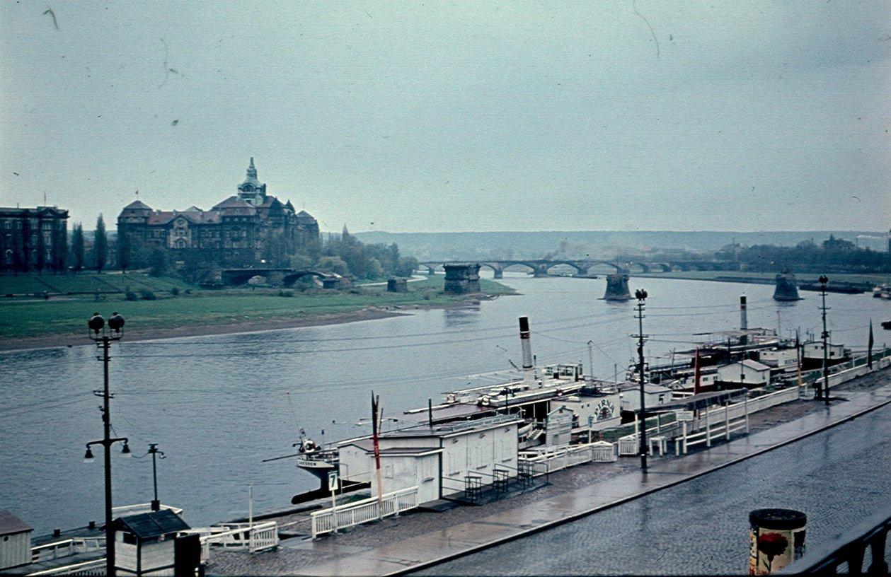 Дрезден. Река Эльба