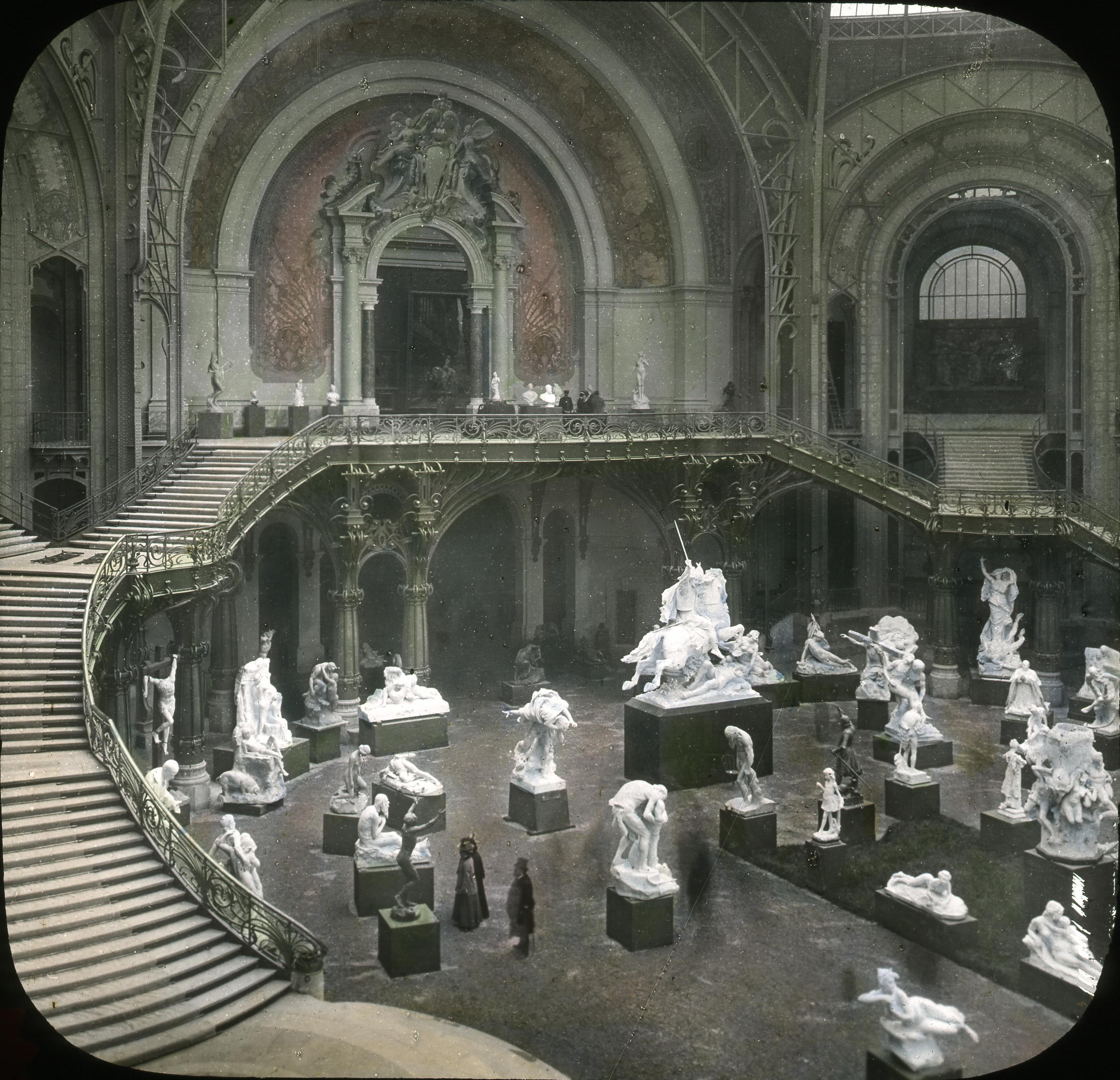 Большой дворец. Галерея статуй