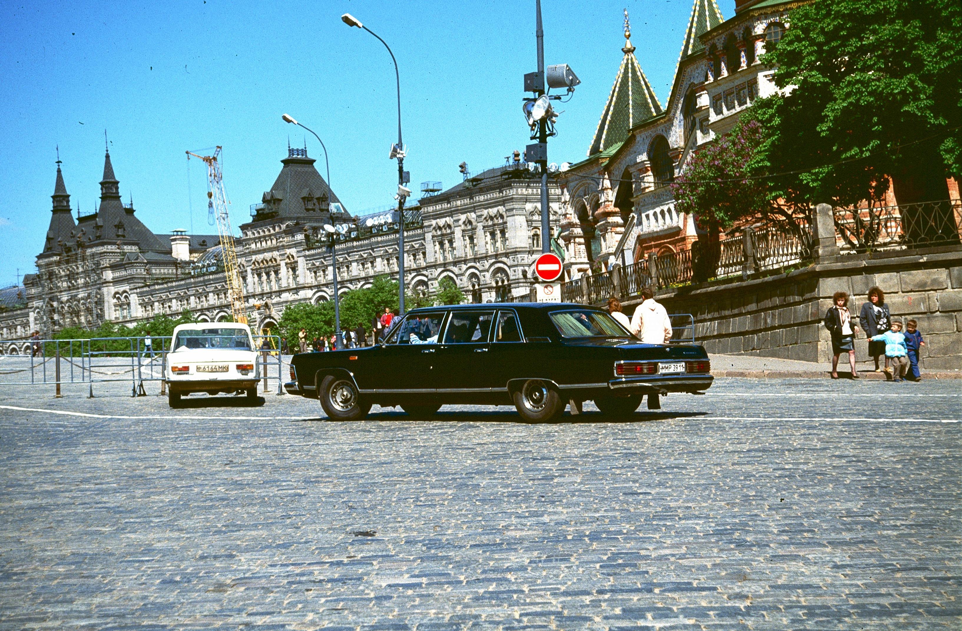 Красная площадь. Лимузин