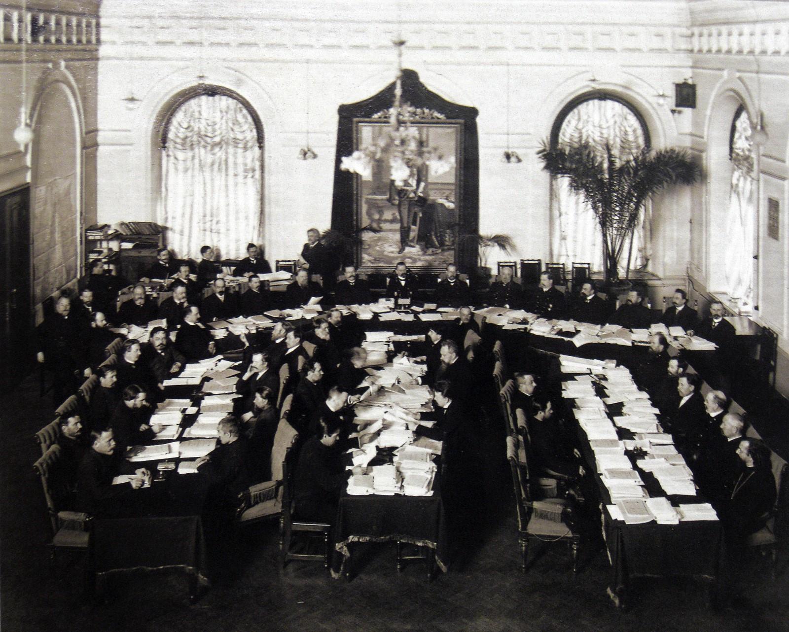 Зал губернского земского собрания