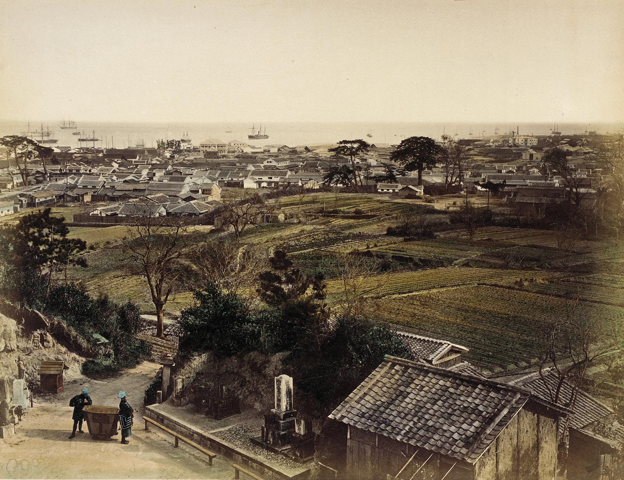 Кобе. Панорама города