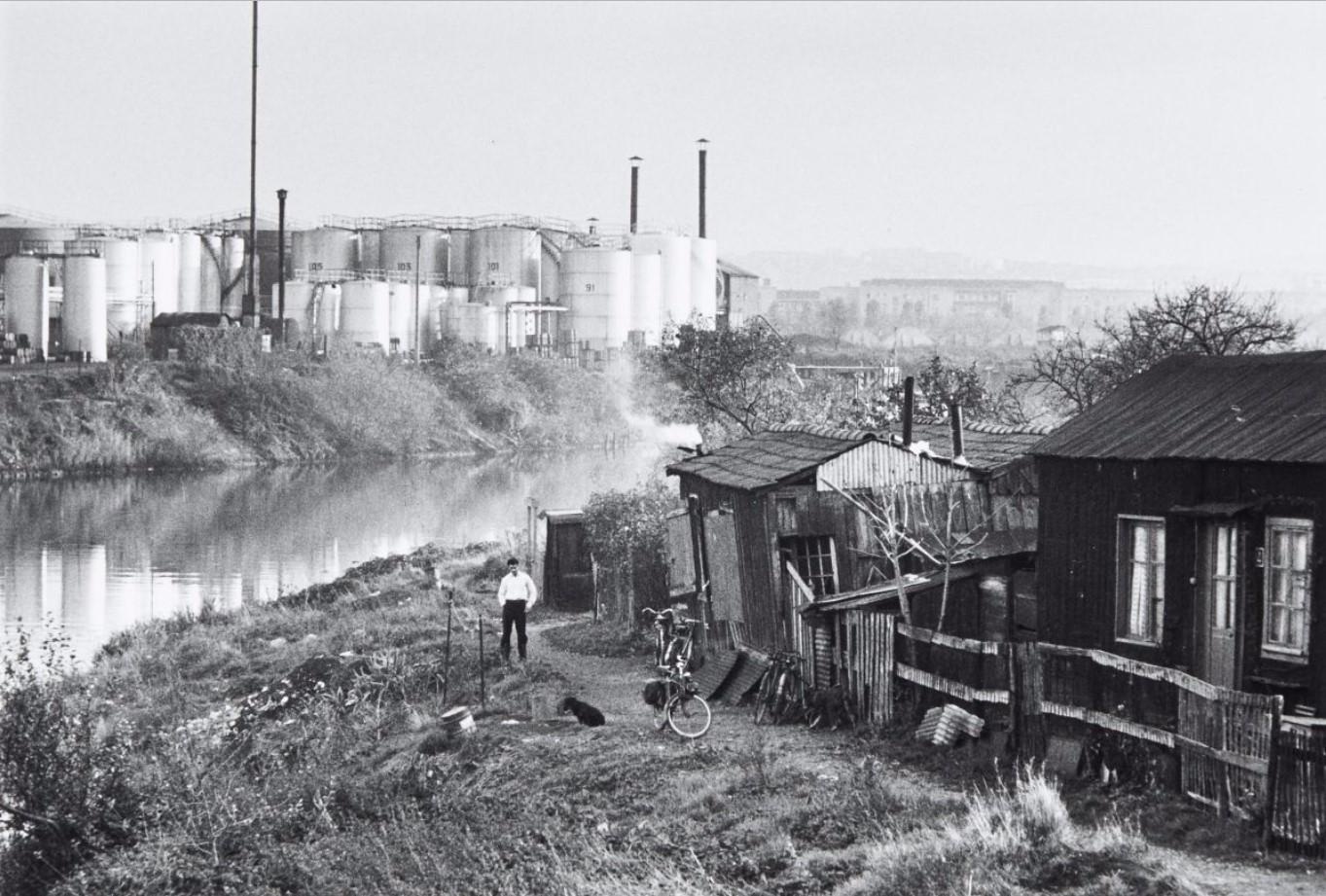 1957. Трущобы в Нантере. Париж