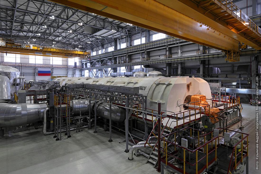 турбина фотография машинный зал 6 нововоронежская аэс