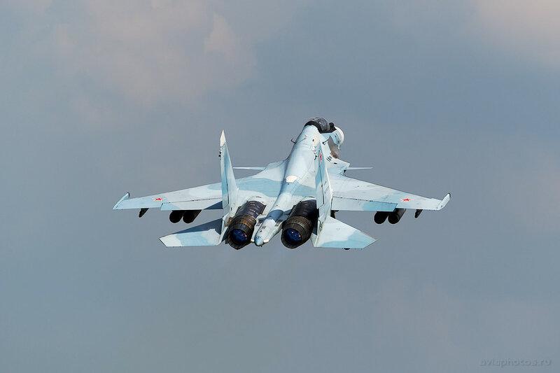 Сухой Су-30СМ (RF-93686 / 04 черный) ВКС России 0240_D805574