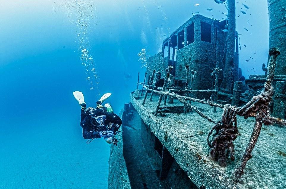 Фотографии затонувших кораблей
