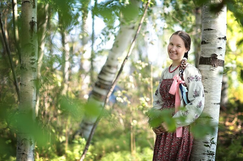 Петровские смотрины. Русская традиционная культура