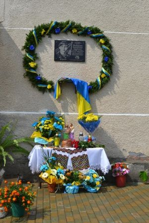 Погибшему герою Освободительной войны установили мемориальную доску