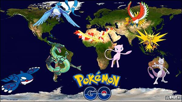 Игра Pokemon Go. Вирусная новинка от Nintendo