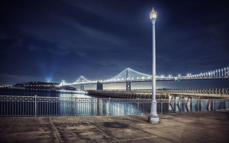 США, Сан-Франциско, набережная, мост