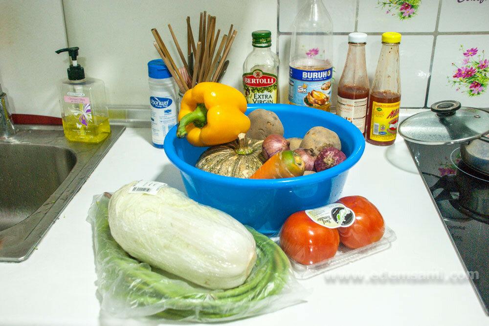 Овощи в Малайзии
