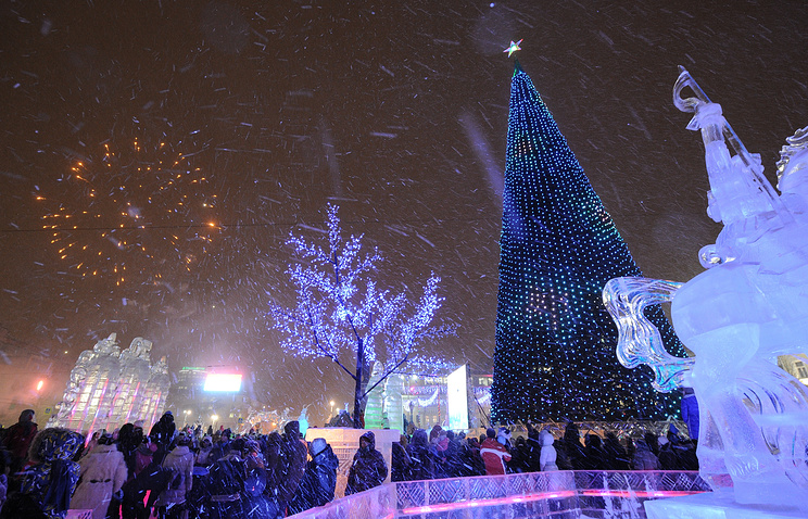 Для тех, кто всё пропустил: видео светового шоу намэрии Екатеринбурга