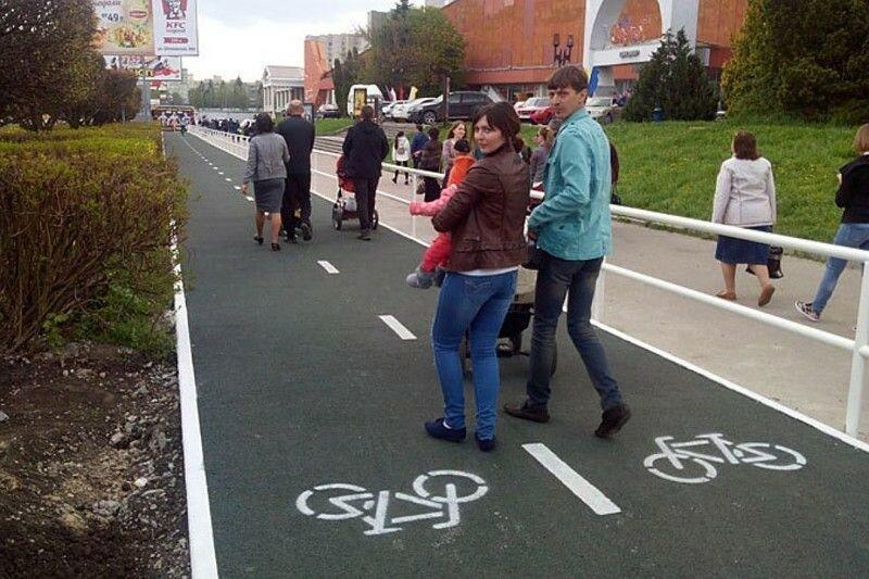 0 1e883a 56614c98 XL Доказательства тяжелой жизни велосипедистов в городе: фото и видео