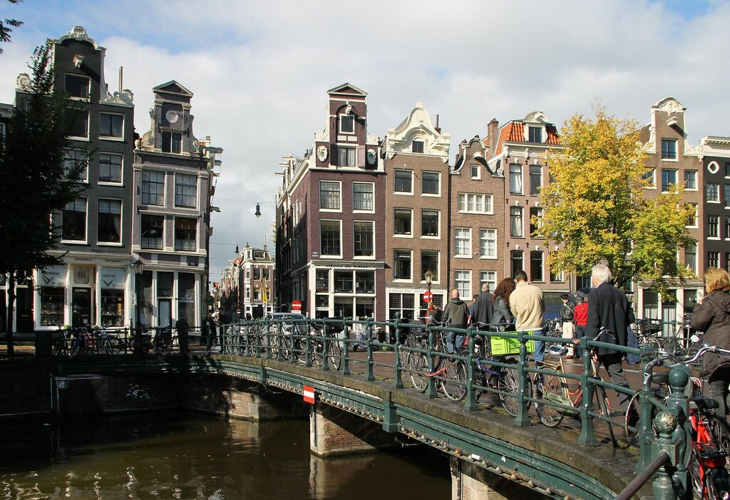Amsterdam in early October