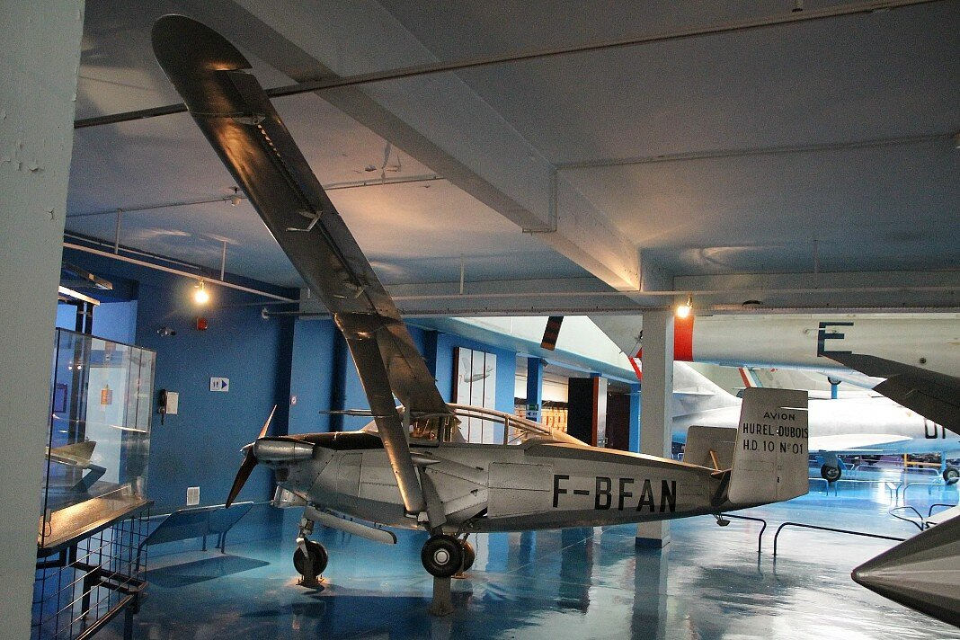 The Museum of aviation in Le Bourget. Hurel-Dubois HD.10