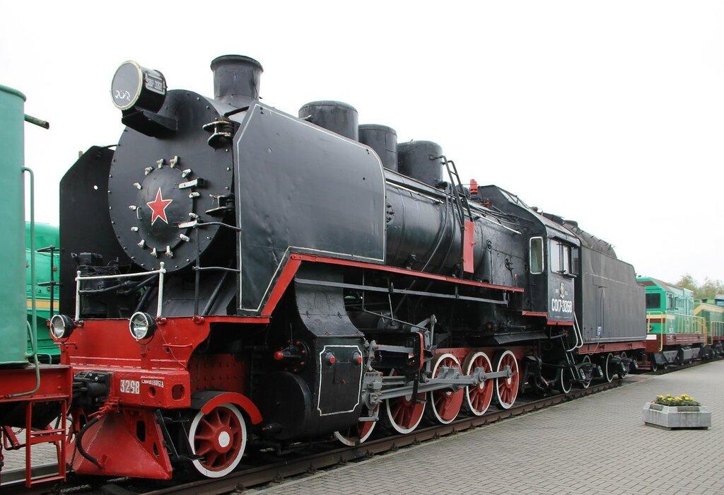 Железнодорожный музей в Бресте